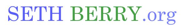 SethBerry.org